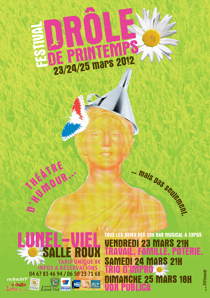 Festival drôle de printemps 2012