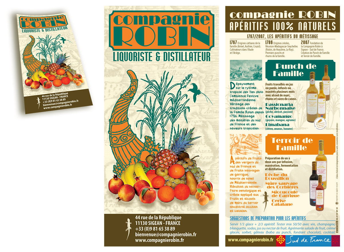 flyer compagnie robin