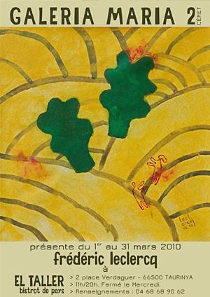 flyer galeria maria