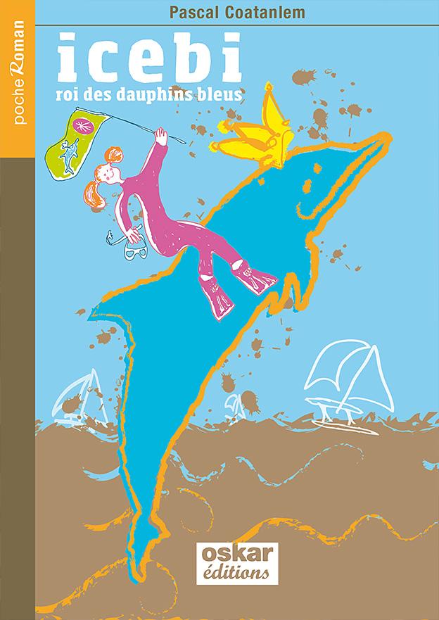 icebi, projet de couverture de roman pour enfants